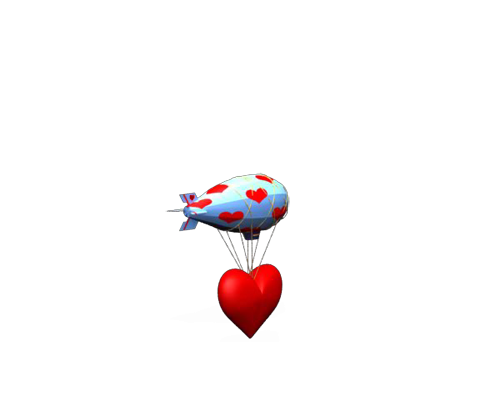 Valentine Blimp