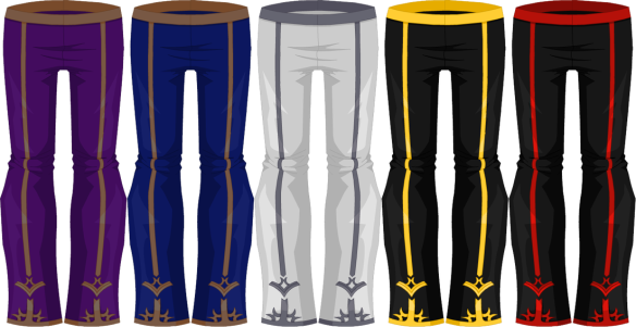 Adorae Adorned Pants (Male)