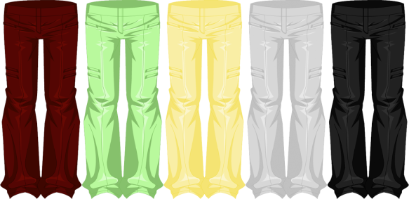 Fate's Forever Pants (Male)