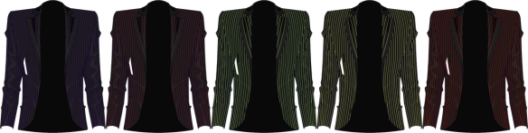 Visionary Pinstripe Jacket (Male)