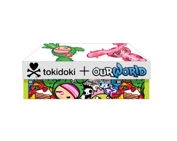 Contains Tokidoki + ourWorld 2013