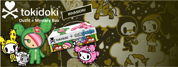 Contains Tokidoki + ourWorld 2013 Login Page