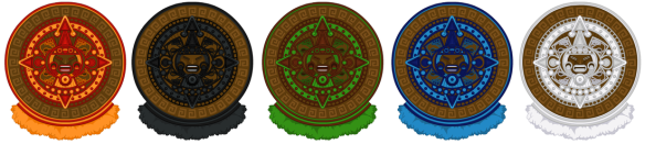 Tiki Warrior Shield