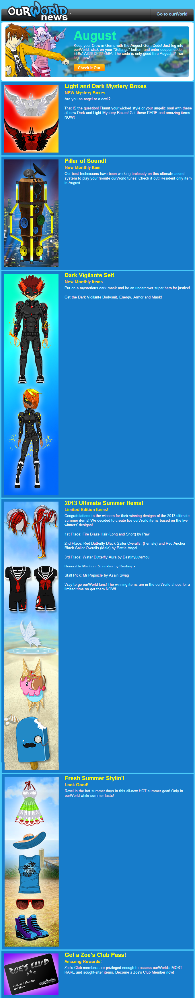 word 2013 newsletter